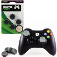 KMD Thumb Grips For Sony PlayStation 3/Microsoft Xbox 360 Black