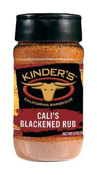 Pk Kinder Co Inc Kinder's BBQ Rub Cali's Blackened Rub 5 oz-Mfg# 37504 - Sold As 6 Units