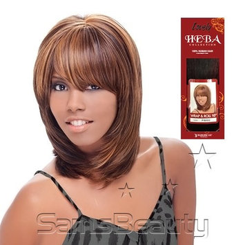 Harlem125 Human Hair Blend Weave Heba Collection Wrap & Roll 10