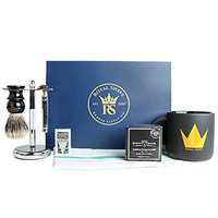 RoyalShave Beginner Shaving Set- Wet Shave Set Featuring Edwin Jagger Double Edge Safety Razor!