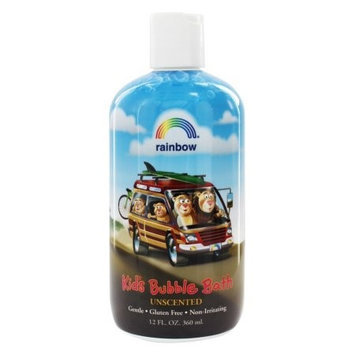 Rainbow Research 0562843 Organic Herbal Bubble Bath For Kids Unscented - 12 fl oz
