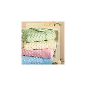 Heavenly Soft Toddler Blankets - Color: Blue