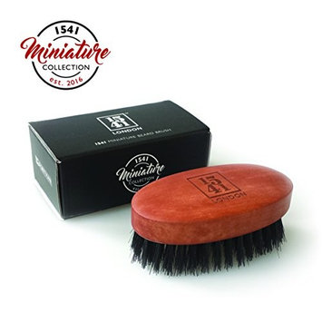 1541 London Travel Sized Beard Brush with Pure Black Bristle