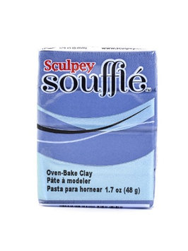 Sculpey Souffl? Oven-Bake Clay bluestone, 1.7 oz. [pack of 10]