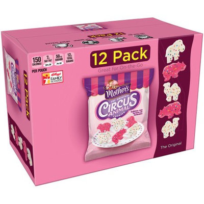 Kellogg Sale Company Mother's The Original Circus Animal Cookies 12 ct (Pack Of 4)