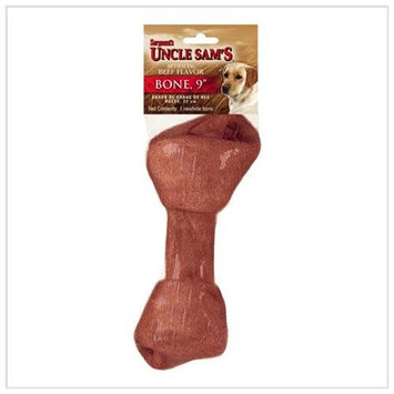 Misc Sergeant's Pet 47367 Canine Prime 9In Beef Flavored Bone
