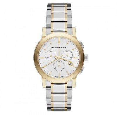 Burberry BU9751 White / Silver Stainless Steel Analog Quartz Men's Watch