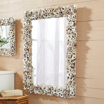 Two's Company Oyster Bay Rectangle Mirror