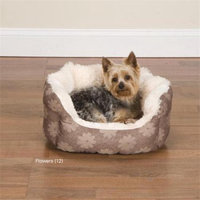 Slumber Pet Uptown Dog Lounger Spirals, 18 in.