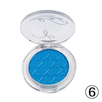 DZT1968 19g waterproof 17colors Eye Shadow Make Up Light Eyeshadow Cosmetics Set With Brush Eye Makeup Palette (F)