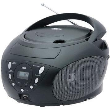 Naxa NPB-255 Portable MP3/WMA/CD Player with AM/FM Radio