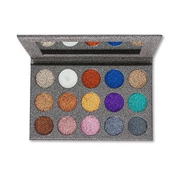 Kara Beauty ES38 15 Color Galaxy Glitter Palette
