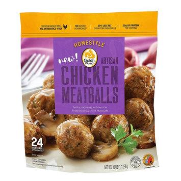 Gold N Plump Meatballs Homestyle, 1.13 lb (Frozen)