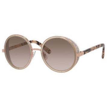 Jimmy Choo Andie/S Sunglasses 0J7A 54 Gold Copper (NH