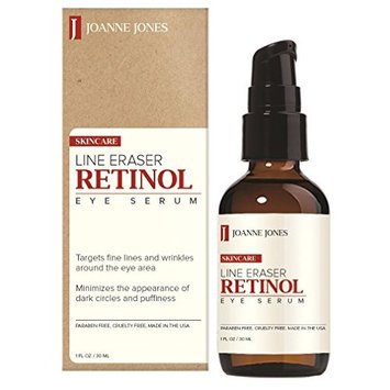 Joane Jones Line Eraser Retinol with Organic Green Tea Eye Serum 1oz / 30ml