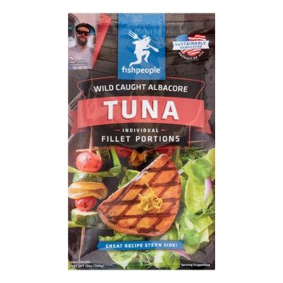Fishpeople Wild Albacore Tuna Fillets, 2 portions, 12 Oz (Frozen)
