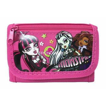 Monster High Tri-fold Canvas Wallet
