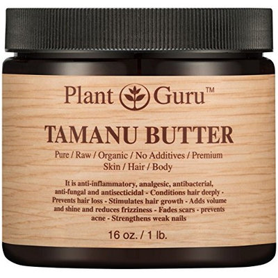 Tamanu Body Butter 16 oz. 100% Pure Raw Fresh Natural Cold Pressed. Skin Body and Hair Moisturizer, DIY Creams, Balms, Lotions, Soaps.