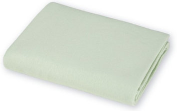 American Baby Company Value Jersey 100 Percent Cotton Knit Bassinet Sheet - Celery - 2 Pack