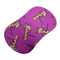 SheetWorld Fitted Bassinet Sheet (Fits Halo Bassinet Swivel Sleeper) - Giraffes Hot Pink
