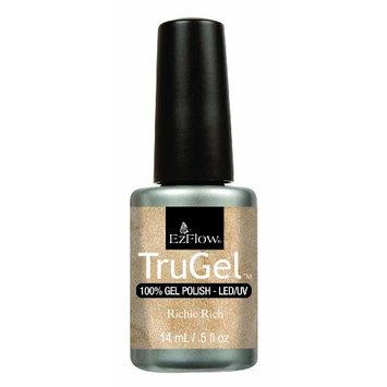 Ez Flow Trugel 4th Launch Nail Lacquer, Richie Rich, 0.5 Fluid Ounce