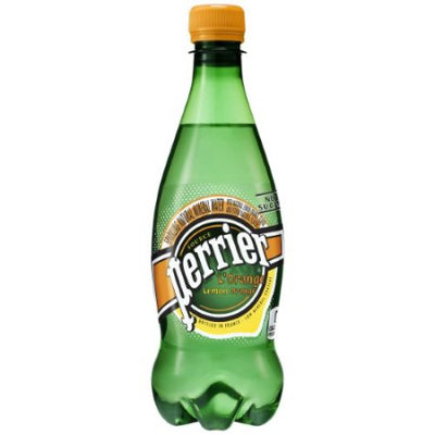 Perrier Sparkling Natural Mineral Water, Lemon Orange, 16.9 Fl Oz (Pack of 24)