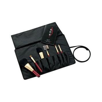 Kumano Fude Kumano Make up Brush KFi-R156 Brush set w/ Case