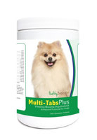 Healthy Breeds 840235122920 Pomeranian Multi-Tabs Plus Chewable Tablets - 365 Count
