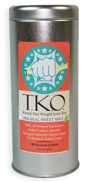 Lean180 T.K.O. Knock Out Weight Loss Tea- Sweet Mint