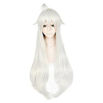 Anogol Hair Cap+Cosplay Wig Long Wavy Hair Women's Wigs Costume