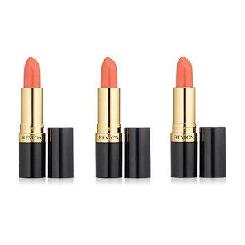 Revlon Super Lustrous Lipstick Shine #828 Carnival Spirit (Pack of 3) + FREE Makeup Blender