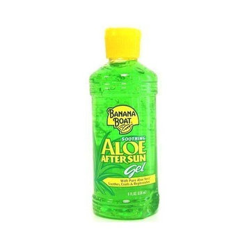 Banana Boat Aloe After Sun Gel 8 oz. (3-Pack) with Free Nail File