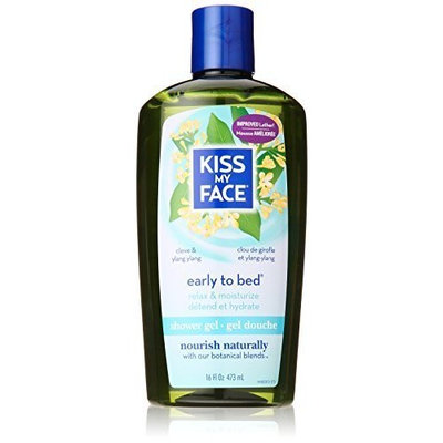 Kiss My Face Shower Gel and Body Wash, Early-to-Bed, 16 Ounce (Pack of 3) by Kiss My Face
