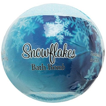Primal Elements Snowflakes Bath Bomb, 4.8 Ounce