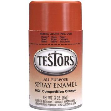 Testors Aerosol Enamel Paint 3 Ounces-Orange