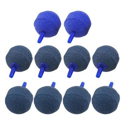 10 Pcs 5mm Air Tube Mineral Bubbles Air Stone Airstone for Aquarium Pump