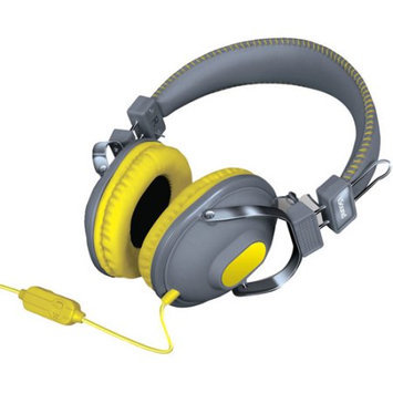 Isound Dghm-5523 Hm260 Dynamic Stereo Headphones With Microphone [gray/orange]