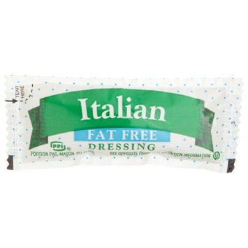 Portion Pack Fat Free Italian Dressing, 0.42-Ounce Single Serve Packages (Pack of 200)