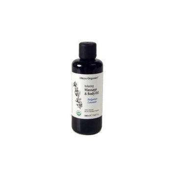 Relaxing Massage & Body Oil - Bulgarian Lavender (USDA Certified Organic)