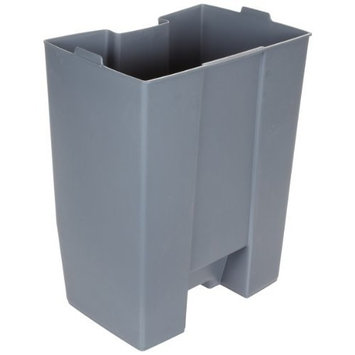 Rubbermaid Commercial FG624400GRAY Rigid Liner for Rubbermaid 6144 Step-On Container