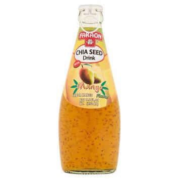Faraon Foods Faraon Chia Seed Drink with Mango Flavor, 9.8 fl oz