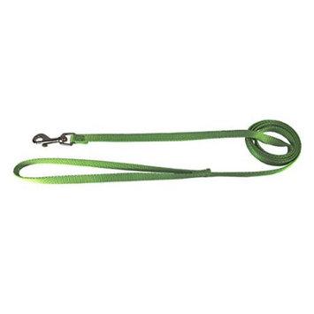 Hamilton 3/8-Inch Single Thick Nylon Lead with Swivel Snap, 6 feet, Lime Green