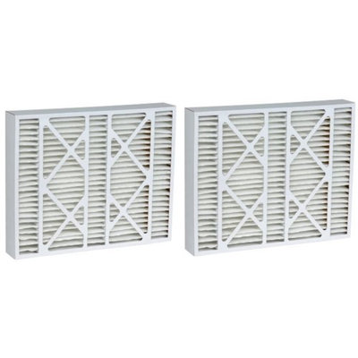 12.5x20x5 (12.38 x 19.88 x 4.38) MERV 15 Accumulair Replacement Filter for Honeywell (2 Pack)