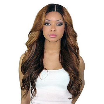 Glueless Lace Front Wigs Human Hair Ombre Brazilian Wigs for Black Women 130 Density