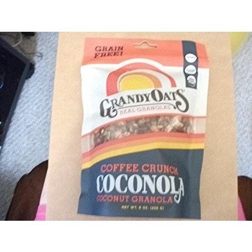 GrandyOats Grain Free Coffee Crunch Coconola, 9 Ounce