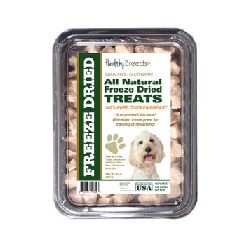 Healthy Breeds 840235146223 8 oz Labradoodle All Natural Freeze Dried Treats Chicken Breast