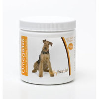 Healthy Breeds 840235142362 Airedale Terrier Omega 3 & 6 Soft Chews - 60 count