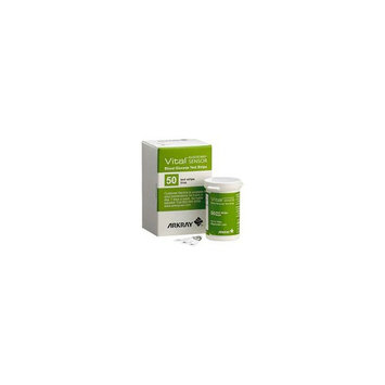 Glucocard Vital Blood Glucose Test Strips 50 Count