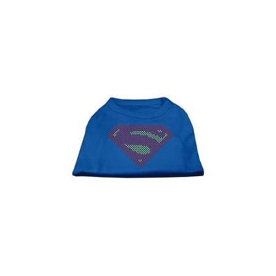 Ahi Super! Rhinestone Shirts Blue XXL (18)