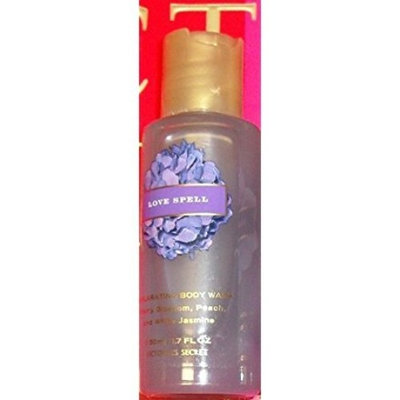 VICTORIA'S SECRET LOVE SPELL EXHILARATING BODY WASH GEL 1.7 OZ 50 ML